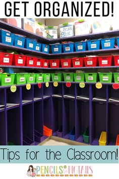 Organizing your classroom is simple with these teacher tips! My new way of storing my centers has changed my life and my students love it too! #classroomorganization #teachertips #classroomtips #getorganized #centers