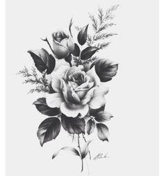 My tattoo love roses