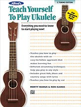 Alfred's Teach Yourself to Play Ukulele, C-Tuning Edition: Everything You Need to Know to Start Playing Now, by Morton Manus and Ron Manus -- Using plain, easy-to-follow language that's easy for beginners to understand makes learning the ukulele fun. The included CD contains beautiful recordings of all the music in the book. #music #ukulele
