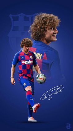 'Art Griezmann Wallpaper' Poster by niluhjohnson Madrid Football, Barcelona Football, Football Boys, Neymar Barcelona, Antoine Griezmann, Good Soccer Players, Football Players, Fc Barcelona Wallpapers, Fcb Wallpapers