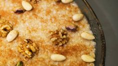 Armenian sweet barley pudding recipe (anoushabour) :with cinammon, nuts, cloves, and sultanas SBS Food