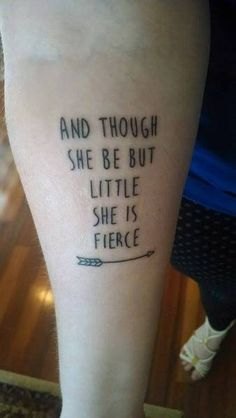 Treasured in my heart you 39 ll stay until we meet again for Though she be little she is fierce tattoo