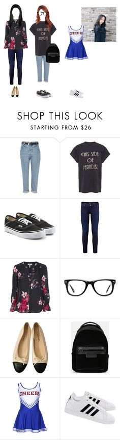 """""""[DRAMA] Love Letter EP 2: Ms. Right or Ms. Wrong? Recap (Read The Description)"""" by princessmax ❤ liked on Polyvore featuring River Island, Needle & Thread, Vans, Joie, Muse, Chanel, STELLA McCARTNEY and adidas"""