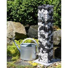 Gabion colonne avec robinet