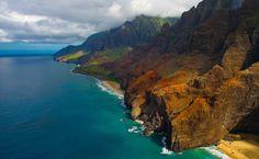 Pali Coast Kauai, Havaí, EUA