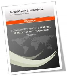 eLearning #Localization Requires Strong #Translation & Voice Over Talents!