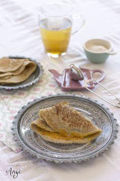 Cocina con Angi: Crepes de trigo sarraceno sin huevo ni leche {sin gluten}