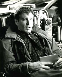 Harrison Ford behind the scenes