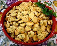 Dill Ranch Snack Crackers Recipe - Food.com - 88797