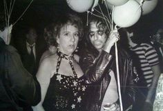 'Edith Bunker' (Jean Stapleton) &  Alice Cooper