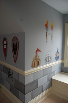 Lego knight helmets | by miltnmo