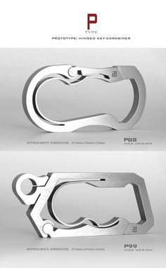 Wow. It's as if Style and Design fell in love in the city of Pure, had a litter of offspring, and made a Kickstarter page (http://www.kickstarter.com/projects/1147070536/bauhaus-series-unibody-titanium-key-carabiner) just for them! The only hard part about looking at all the photos is trying to decide which you like the best. (Bauhaus Titanium Carabiner) [edc every day carry tool]