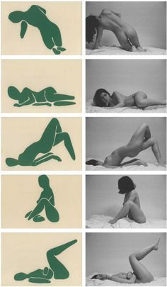 figure cut-outs. these are helpful for visualizing a figure during life drawing Figure Drawing Reference, Anatomy Reference, Portrait Studio, Poses Photo, Poses References, Illustration Art, Illustrations, Posing Guide, Foto Art
