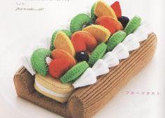 Del libro japonés Gakken Mook Erikarika: un pastel de hojaldre, crema pastelera y frutas....toma ya!