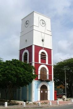 Aruba - Oranjestad Lighthouse by margo