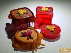 Arte em Casa por Rita Candeu: Lembrancinha - Miosotis dobrados
