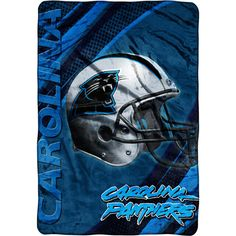 panthers  blankets  | Panthers Blanket, NFL Micro Raschel Blanket, Polyester Blanket ...
