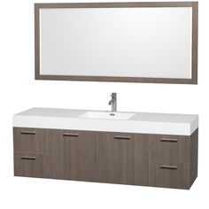 sustainable bathroom vanities elemental green