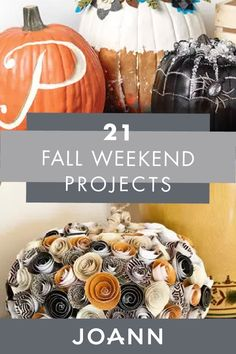 Have some free time coming up later? Try out your DIY skills with these 21 Weekend Fall Projects from JOANN! Find fun and cute crafts like How to Make a Macramé Skull Wall Hanging, DIY Skull and Bones Chandelier, and handmade Pumpkin Holiday Centerpiece. Cute Crafts, Crafts To Make, Holiday Centerpieces, Fall Projects, Warm Sweaters, Apple Crisp, Skull And Bones, Free Time, Autumn Leaves