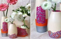 The Best 20 Wonderful DIY Vase Inspiration For Flowers Look More Pretty https://hroomy.com/plants-garden/20-wonderful-diy-vase-inspiration-for-flowers-look-more-pretty/