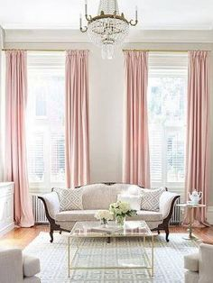 pink curtains - Google Search