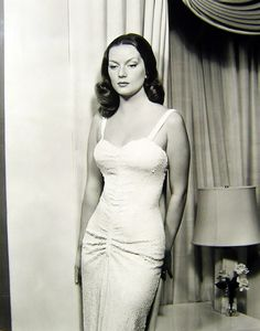 Hazel Brooks, 1940s.  Google her...interesting life.