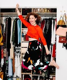 Refinery29 Editor In Chief - Closet Organizing Ideas | How Refinery29 editor-in-chief Christene Barberich got the closet of her dreams. #refinery29 http://www.refinery29.com/closet-organizational-tips