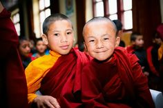 Young monks at the Mahabodhi school near Leh. Read more here: http://on.ted.com/sTSN #TEDxLeh #TEDx