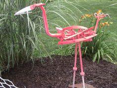 "Flamingo Metal Art by ""That Darn Texan"" ....donnaswails@windstream.net"