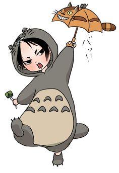 Hoozuki no Reitetsu x Totoro