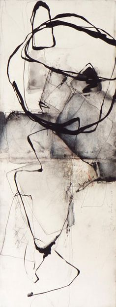 ♒ Art in the Abstract ♒ modern painting - Kitty Sabatier Abstract Expressionism, Abstract Art, Abstract Landscape, Abstract Lines, Art Graphique, Art Plastique, Oeuvre D'art, Love Art, Painting & Drawing