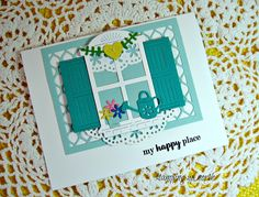 stamping up north with laurie: Cheery Lynn Shuttered Window........ My Happy Place