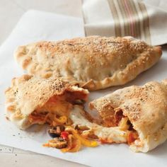 Vegetable Calzones recipe