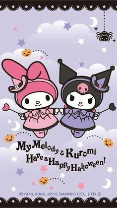 My Melody and Kuromi