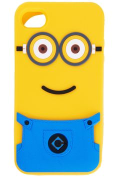 ROMWE | Lovely Despicable Me Silicone Skin Case Cover For iPhone 4 4S 5, The Latest Street Fashion