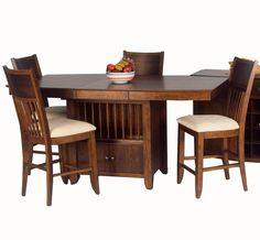 Broadway Counter Height Table And Chair Set By Ligo Products