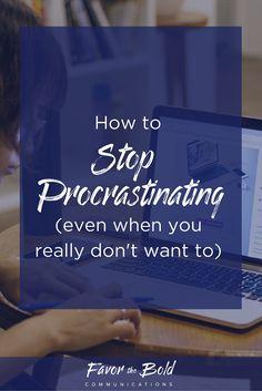 How to stop procrastinating. Productivity hacks for entrepreneurs…