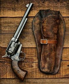 Survival camping tips Weapons Guns, Guns And Ammo, Rifles, Revolver Pistol, Magnum, Military Guns, Fire Powers, Leather Holster, Cool Guns