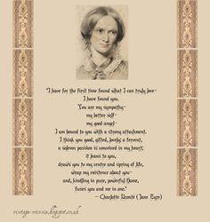 How You Should Feel About Your True Love through the eyes of Jane Eyre By: Charlotte Bronte
