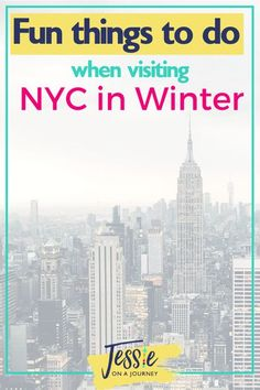 Visiting New York in the winter season? Here are the most common FAQ's and some must-know tips before you embark on your journey. #visitingnewyorkindecember #visitingnewyorkinwinter #visitingnewyorkinfebruary #visitingnewyorkinjanuary #jessieonajourney New York Travel Guide, Best Travel Guides, New York City Travel, Travel Tips, Travel Destinations, Budget Travel, Travel Advise, Travel Articles, Travel Abroad