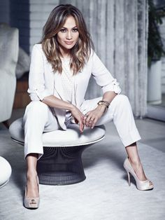White hot. #JenniferLopez #NewArrivals #Kohls