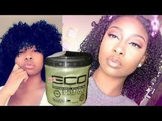 Updated Wash 'n Go | THIS NEW ECOSTYLER BLACK CASTOR & FLAXSEED OIL GEL IS THE GOAT [Video] - Black Hair Information