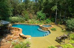 Automatic Pool Cover For Kidney Shaped Pool Outdoor Pinterest Backyard