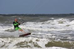 Kitesurfing, photo Birgit Puck