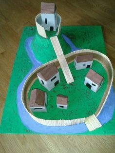 Model Motte & Bailey Castle