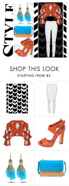 """Tribal Casual Outfit"" by jan-fr ❤ liked on Polyvore featuring River Island, Mochi, Gucci, WithChic and Pixie Mood"