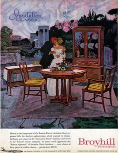 Mad For Mid Century: Broyhill Premier Mid Century Furniture Ads