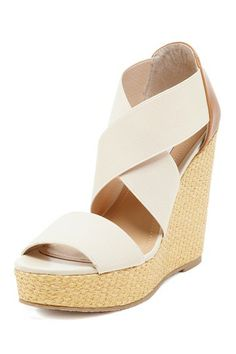 Staar Strappy Wedge Sandal by Wedges Starting At $20 on @HauteLook
