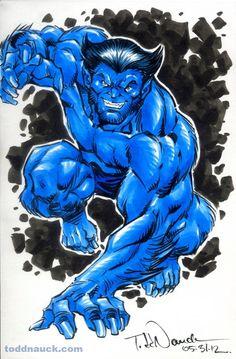 The Beast by comic artist Todd Nauck.