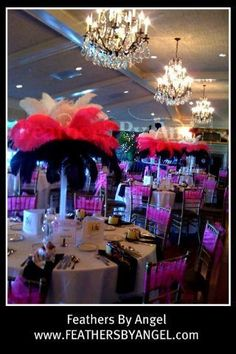 These Will Be The Tall Centerpieces Except Clear Vases